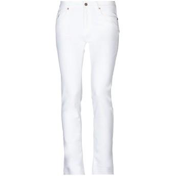 《セール開催中》AVANTGAR DENIM by EUROPEAN CULTURE レディース パンツ ホワイト 25 コットン 98% / ポリウレタン 2%