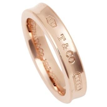 【送料無料】ティファニー リング アクセサリー TIFFANY & Co. 1837 ナローリング ルベド RUBEDO レディース 指輪 ローズゴールド