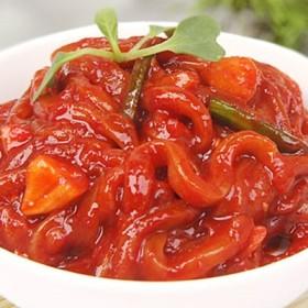 味付けいかの塩辛・韓国産(250g) 惣菜 韓国おかず 韓国塩辛 韓国食品