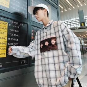 [55555SHOP]2019 新作 韓国 メンズファッション ファッション メンズ ニットセーター長袖 半袖プル カジュアル トップス