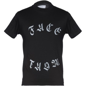《セール開催中》FACETASM メンズ T シャツ ブラック 1 コットン 100%