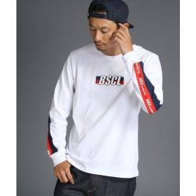 BASE STATION / ベースステーション 【WEB限定】ブランドロゴ長袖Tシャツ別注【BSCL】