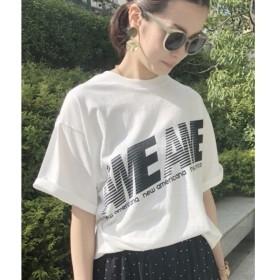 aquagirl / アクアガール Americana ビッグシルエットロゴTシャツ