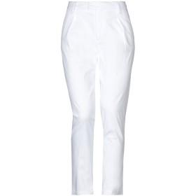 《セール開催中》MICHAEL COAL レディース パンツ ホワイト 25 コットン 98% / ポリウレタン 2%