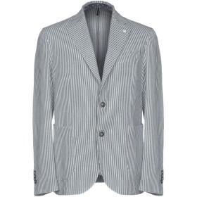 《期間限定 セール開催中》L.B.M. 1911 メンズ テーラードジャケット ライトグレー 48 コットン 75% / 麻 25%