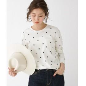 BASE STATION / ベースステーション スター総柄 ロンT Tシャツ WEB限定 15009