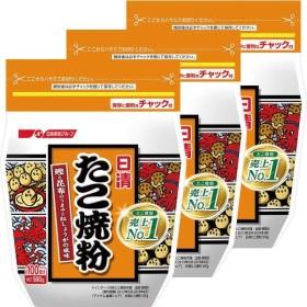 日清フーズ 日清 たこ焼粉 1セット(3個)