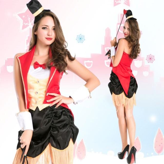 7af6ac63e540e ハロウィン コスプレコスチューム 巫女 ウィッチ ブラック女王様 セットコスチューム ミディアムドレス Halloween ハロウィン ゲームコス