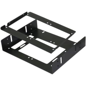 ブラケット HDD/SSD 5.25インチ → 3.5/2.5インチ 最大4台 OWL-BRKT20-BK ブラック