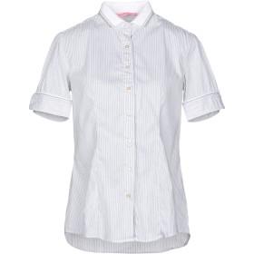 《セール開催中》NOUVELLE FEMME レディース シャツ ライトグレー 48 コットン 70% / ナイロン 27% / ポリウレタン 3%