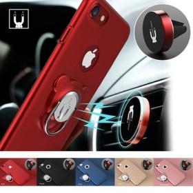 ★送料無料★スマホケース 携帯カバー iphone ベア スタンド リング マグネットホルダー レディース メンズ 携帯 モバイル アイフォン 大人気 最新