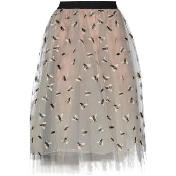 《セール開催中》CRISTINAEFFE レディース 7分丈スカート ベージュ 42 ポリエステル 100% / ナイロン