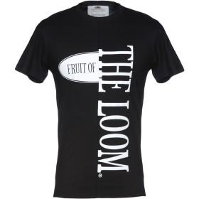 《セール開催中》FRUIT OF THE LOOM メンズ T シャツ ブラック XS コットン 100%