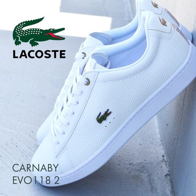 ラコステ メンズスニーカー Lacoste Carnaby Evo 118 2 35SPM0005Y05