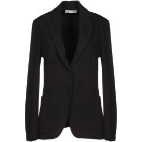 《期間限定セール開催中!》BARENA レディース テーラードジャケット ブラック 42 コットン 100%