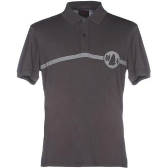 《期間限定セール開催中!》MURPHY & NYE メンズ ポロシャツ 鉛色 S コットン 100%
