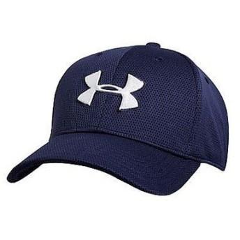 (セール)UNDER ARMOUR(アンダーアーマー)スポーツアクセサリー 帽子 UA BLITZING CAP サイズ LG/XL 57-60cm 大きめ 1254123 410 メンズ LGXL MIDNIGH...