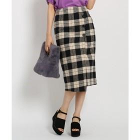 AG by aquagirl / エージー バイ アクアガール ◆チェックラップスカート