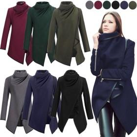 送料無料!韓国風7色秋と冬のウールコート/Woolen coat/S~XXXL優雅 /エレガント/可愛い/ビジネスカジュアル、ぴったりフィットした首を持つ風防ジャケット