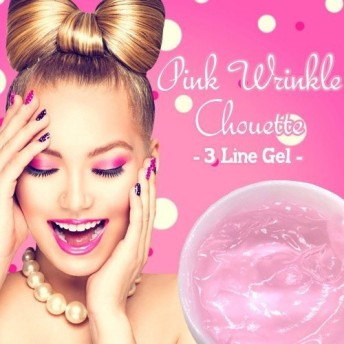 ピンクリンクルシュエット-3ラインジェル-(Pink Wrinkle Chouette-3Line Gel-)/美容ジェル