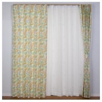 【送料無料!】ビルの街並みが光る!蓄光カーテン ドレープカーテン(遮光あり・なし) Curtains, blackout curtains, thermal curtains, Drape(ニッセン、nissen)