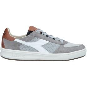 《セール開催中》DIADORA HERITAGE メンズ スニーカー&テニスシューズ(ローカット) グレー 6.5 革 / 紡績繊維