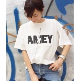 aquagirl / アクアガール AMERICANA ロゴプリントTシャツ