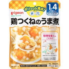 ピジョン 食育レシピ鉄Ca 鶏つくねのうま煮 120g 4902508139335 ベビーフード