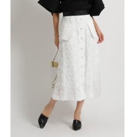 aquagirl / アクアガール ◆AKIRA NAKA フロントボタンレースタイトスカート
