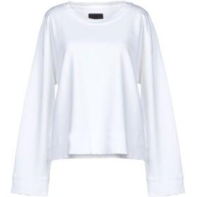 《期間限定セール開催中!》RTA レディース スウェットシャツ ホワイト L コットン 100%