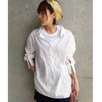 aquagirl / アクアガール MUVEIL Tシャツレイヤード風シャツ