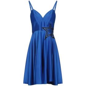 《セール開催中》MARY D'ALOIA レディース ミニワンピース&ドレス ブルー 40 ポリエステル 100% / ナイロン / ポリエチレン