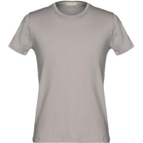 《期間限定 セール開催中》CASHMERE COMPANY メンズ T シャツ グレー 54 コットン 100%