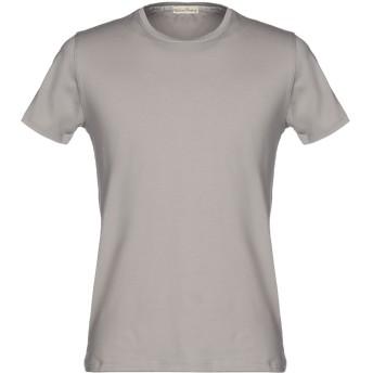 《9/20まで! 限定セール開催中》CASHMERE COMPANY メンズ T シャツ グレー 54 コットン 100%