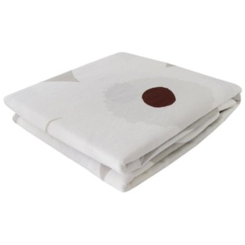 マリメッコ デュベカバー 掛け布団カバー シングル 150×210cm UNIKKO ウニッコ ベージュ×ホワイト 69422 810