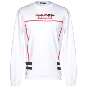 《期間限定セール開催中!》DOOA メンズ スウェットシャツ ホワイト L コットン 100%