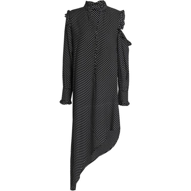 《セール開催中》WALTER BAKER レディース ミニワンピース&ドレス ブラック 6 レーヨン 100%