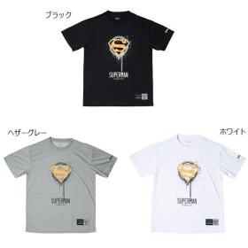 スポルディング メンズ Tシャツ スーパーマン モス SUPERMAN MOS バスケットボールウェア トップス 半袖Tシャツ SMT181260