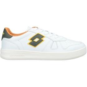 《セール開催中》LOTTO LEGGENDA メンズ スニーカー&テニスシューズ(ローカット) ホワイト 40 革 / 紡績繊維