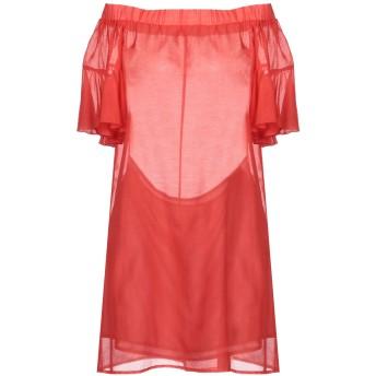 《セール開催中》CRISTINAEFFE レディース ミニワンピース&ドレス レッド 42 ポリエステル 100%