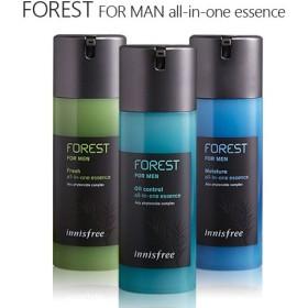 イニスフリーフォレストフォーメンオールインワンエッセンス Innisfree forest for men fresh/moisture/oil control all in one essence