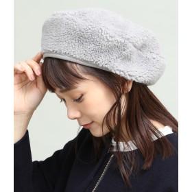 ベレー帽 - ViS ボアベレー帽