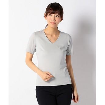 <ICB> Premium Jersey Vネック半袖カットソー(KKCYYM0301) ライトグレー 【三越・伊勢丹/公式】