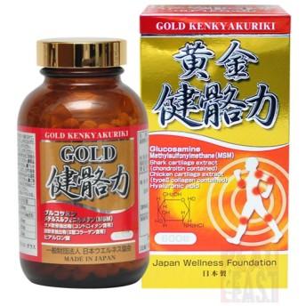 GOLD 健骼力 KENKYAKURIKI 琉球製薬