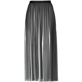 《期間限定 セール開催中》KARL LAGERFELD レディース ロングスカート ブラック 40 ポリエステル 100% / トリアセテート
