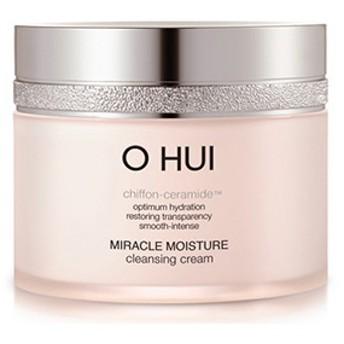 [LG生活健康]韓国コスメ/O HUIミラクルモイスチャークレンジングクリーム200ml/シフォンセラミド成分を含有/オリーブオイル/保湿/角質除去/低刺激性/肌の乾燥/肌の保湿/O HUI Miracle moisture cleansing cream/sum/后/LIRICOS