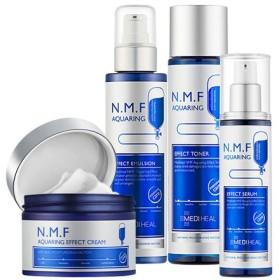 メディヒールNMFアクアリングエフェクト トナー/エマルジョン/クリーム/セラム Mediheal NMF Aqua Ring Effect series