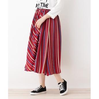 SHOO・LA・RUE/Cutie Blonde(シューラルー) マルチストライプ切替スカート