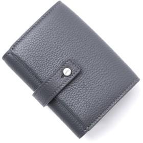 サンローランパリ SAINT LAURENT PARIS 3つ折り 財布 小銭入れ付き グレー メンズ 508049-dti0e-1112