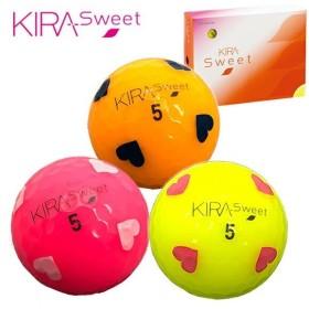 (数量限定!)キャスコ キラスウィート ゴルフボール ハートマーク入り 1ダース(12球)あすつく